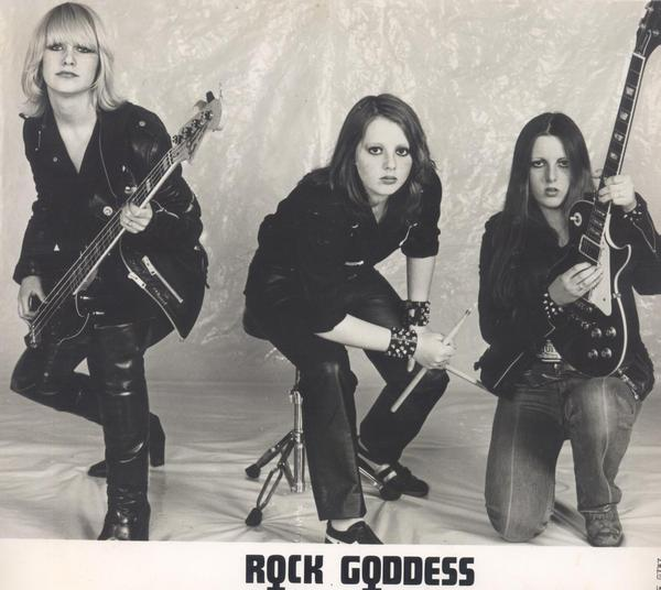 Rock Goddess: Satisfied Then Crucified